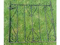 3 x Different Heavy Steel Garden Gates