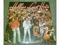 THE HOLLIE'S: LIVE HITS.. VINYL