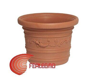 Pflanzer Vase in Kunststoff Überbacken Verschiedene Maßnahmen Möbel Garten Mod. (Pflanzen Maßnahmen)