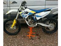 Husquvarna fc 250 not cr honda rm suzuki kx kawasaki yz yamaha ktm motocross bike 450