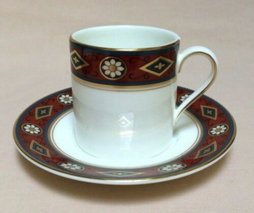 MINTON+CORDOBA+%28S772%29+COFFEE+CUP+%2F+ESPRESSO+CAN+AND+SAUCER+VINTAGE++++++++++CH04