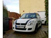 Suzuki Swift 2009 White - 1.3 - 5 Doors - 82,000 - Lots of service history - 10 months MoT