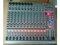 Behringer Eurorack UB2222FX-PRO mixing desk