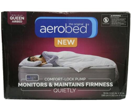 AeroBed Air Mattress W/ Comfort Lock Pump, Queen Size, Integ