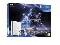 Brand new sealed PS4 SLIM 500GB WHITE INC STAR WARS
