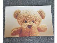 Children's Teddy Canvas Picture