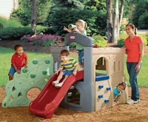Little tikes play structure slide climber