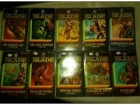 Ten Jeffrey Lord Blade Novels Classic Fantasy