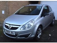 2009 VAUXHALL CORSA 1.2 16v 3DR ACTIVE LOW MILEAGE