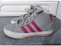 Girls Adidas trainers size 13.5