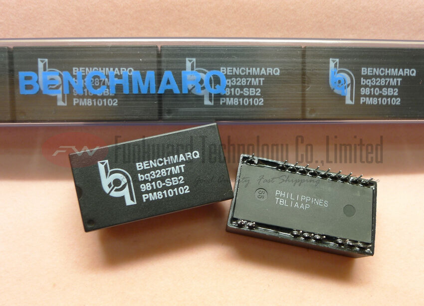 BQ3287AMT-SB2 Encapsulation:DIP,RTC Module With 114x8 NVSRAM 5 pc per lot   usa