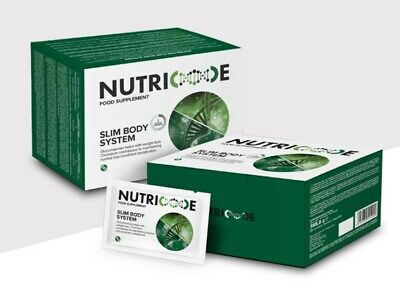 Nutricode- Slim Body System Food Supplement - Weight Loss/Management 1 Month