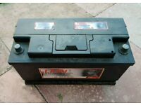 8 months old Battery 12v petrol diesel only £60 tested and full working 100Ah 800A Sandfields