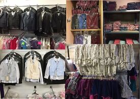 Wholesale Job Lot 100s of Children and Women New Quality Branded Clothing Price from £2.50