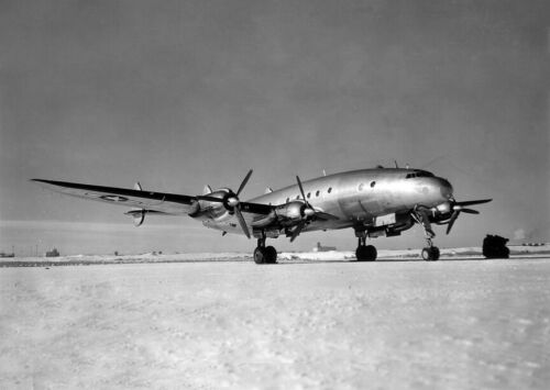 "USAAF Lockheed Constellation (C-69) ((8.5""x11"")) Print"