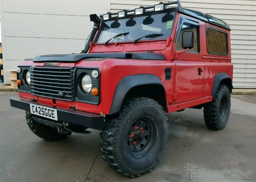1985 Land Rover Defender 90 2 5 200 TDI Red | in Bradford, West Yorkshire |  Gumtree