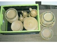 Collection of Kiln Craft Bacchus Crockery
