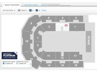 2 x KINGS OF LEON tickets Platinum Seats Liverpool Echo Arena 25th feb