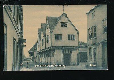 Old Newbury Series - Berkshire Berks NEWBURY Old Cloth Hall pre1919 PPC Wyndham Series