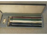 Watch &5 changeable straps