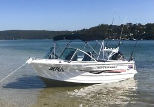2015 Quintrex 450 Fishabout - Fully loaded for fishing, as new.