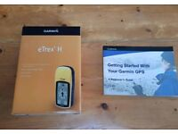 Garmin eTrex H with Guide Book and Waypoint Manager Program
