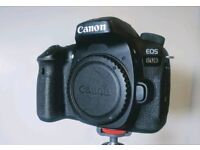 Canon 80D body and accessories