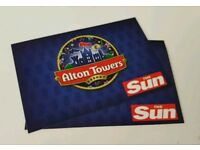 Alton towers tickets for 20/07/2018