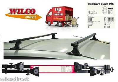 Car Roof Rack Bars FORD MONDEO 2001 - 2007 FOCUS MK2 2004-11 Mont Blanc SUPRA45