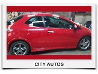 HONDA CIVIC TYPE S 2010 1.4 PETROL 62,500 MILES MANUAL 3 DOOR HATCHBACK RED