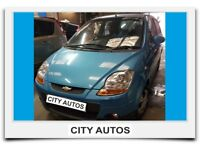 CHEVROLET MATIZ 2009 1.0 PETROL 5 DOOR HATCHBACK MANUAL BLUE
