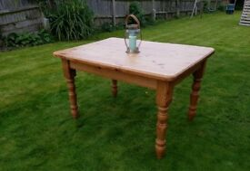 Pine table 5ft x 3ft