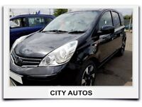 NISSAN NOTE 1.5 DIESEL 2012 REG 41,000 MILES MPV MANUAL BLACK