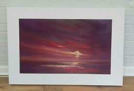 Canvas entitled 'Untamed Horizon' by Ulyana Hammond