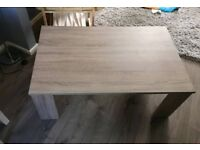 Large chunky coffee table
