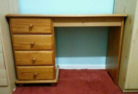 drawers with dressing table or desk