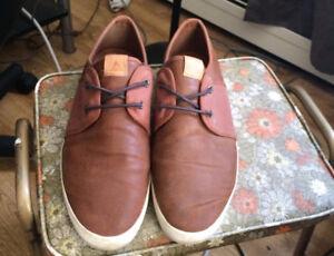 ALDO Shoes + a classic long sleeve shirt