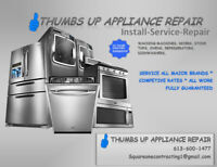 Trustworthy and reliable appliance repair and install