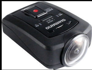 NEW SHIMANO WATER PROOF SPORT CAMERA HD CM-1000 NEUF ACTION + 16