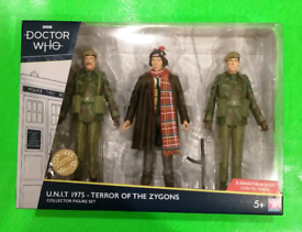 Dr Who - Doctor Who Collector Figure Set / 3 Pack
