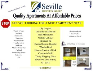 variety of units available moncton , dieppe, riverview