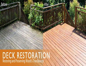 Clean that dirty deck to make it a value to your home
