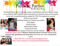 Painting Parties, Put the ART in Party! Book Today!