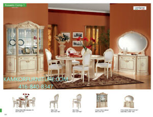 ~~Dining room sets/Tables, Chairs 2 and  4-door Buffets ~