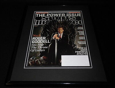Roger Goodell Framed 11X14 Original Sports Illustrated Game Of Thrones Cover