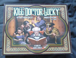 Kill Dr. Lucky Board Game