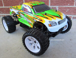 RC Monster Electric Truck 1/10 Scale 4WD Cornwall Ontario image 1