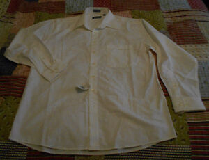 size 16 1/2 white shirt +Brand new+