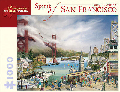 Spirit Of San Francisco 1000 Piece Puzzle Jigsaw Puzzle   10 X 13