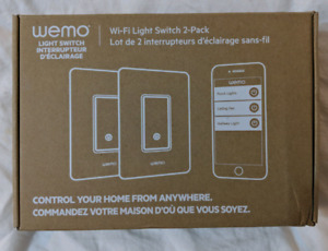 Linksys Wemo Dimmer Light Switch 2 Pack
